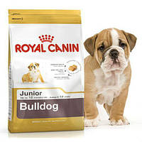 Сухой корм для щенков бульдога Royal Canin Bulldog Junior, 12 кг
