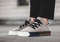 Мужские кроссовки Adidas Originals by Alexander Wang В НАЛИЧИИ, бежевый. Размер 43