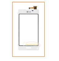 Сенсор (тачскрин) LG E450 Optimus L5, E460 Optimus L5 White Orig