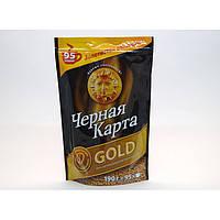 Кофе растворимый Чорна Карта Gold, 190г
