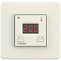 Wi-fi терморегулятор для теплого пола Terneo ax (слоновая кость)