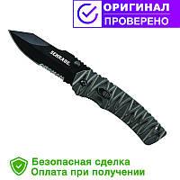 Нож для выживания Schrade - M.A.G.I.C. Dual Action - Serrated Clip Point - SCHA10BS