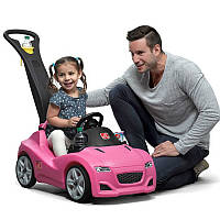 """Детская машина-каталка """"WHISPER RIDE CRUISER"""" (розовая)"""