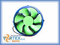 Вентилятор для корпуса TRY FAN 80 mm 3 pin зеленый