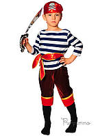 Детский костюм для мальчика Пират морской