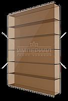 Сотовый поликарбонат 8мм TM SOLIDPLAST бронзовый