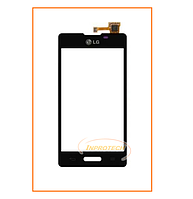 Сенсор (тачскрин) LG E450 Optimus L5, E460 Optimus L5 Black Original
