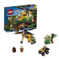 Конструктор LEGO серия City Джунгли Грузовой вертолёт исследователей джунглей 60158