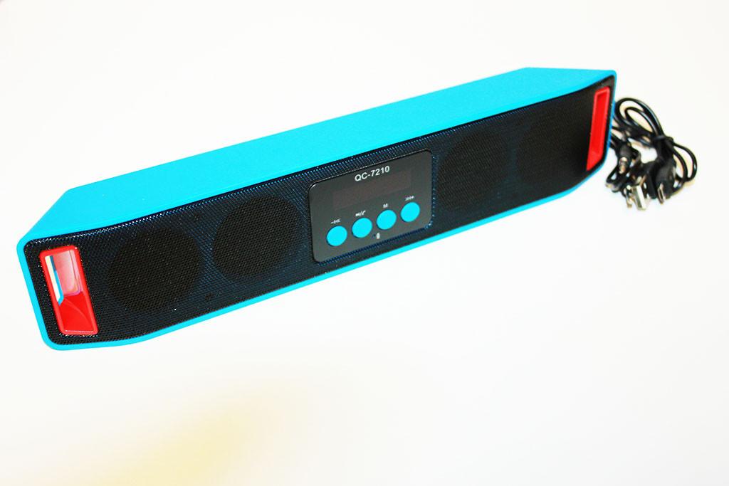 Портативная колонка QC-7210 bluetooth+отличное звучание