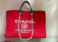 Сумка Chanel красная