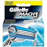 "Картридж Gillette ""Mach3 Turbo"" (5)"