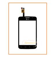 Сенсор (тачскрин) LG Optimus L4 II Dual E445 Black Original