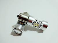 Автолампа LED, P21W, 1156, 21 SMD 2835, 12V CANBUS, Белая