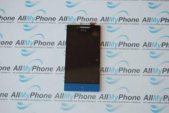Дисплейный модуль для мобильного телефона HTC 8S blue