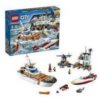 Конструктор LEGO серия City Штаб береговой охраны 60167