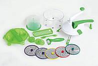 Овощерезка Roto Champ Ручной кухонный комбайн с 5 дисками