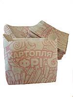 Упаковка для картофеля фри средняя 7.55Ф