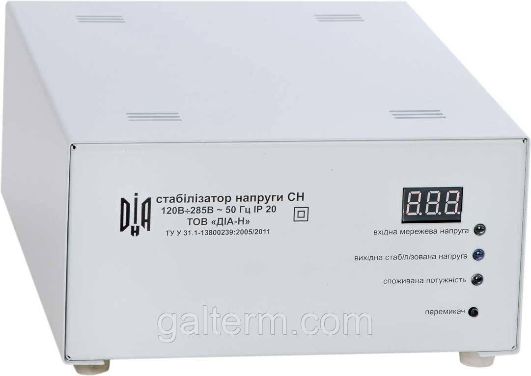 Стабілізатор напруги ДІА-Н СН-3000-м (для пральної машинки)