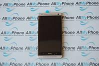 Дисплейный модуль для мобильного телефона HTC One M7 801 серебряного цвета