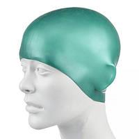Шапочка для плавания детская SPEEDO PLAIN MOULDED SILICONE CAP JR 8709900005. Распродажа!