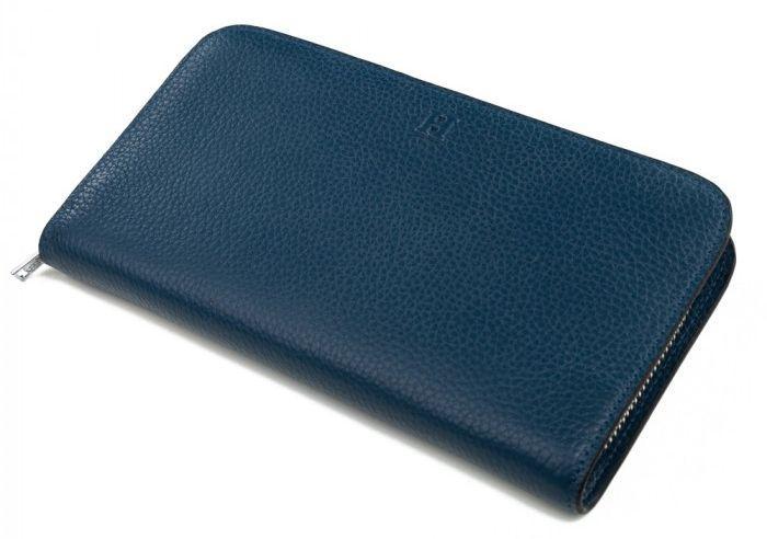 52df71ba2c7f Дизайнерский женский кожаный кошелек Гермес  H-06BL, синий — только ...