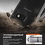 Чохол Ringke Fusion для Samsung Galaxy A3 2017 Duos SM-A320 Black Smoke, фото 2