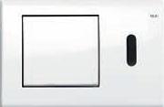 Панель смыва ТЕСЕplanus c инф.датчиком, белая