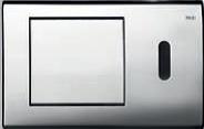 Панель смыва ТЕСЕplanus c инф.датчиком, латунь, фото 1