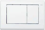 Панель смыва ТЕСЕplanus белая матовая