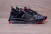 Кроссовки Puma Ignite EvoKnit Black/grey. Живое фото! Топ качество! (пума евокнит)