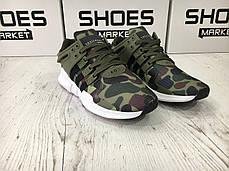 Мужские кроссовки Adidas EQT Support ADV Camo Olive BB1307, Адидас ЕКТ, фото 2
