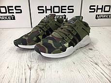 Мужские кроссовки Adidas EQT Support ADV Camo Olive BB1307, Адидас ЕКТ, фото 3