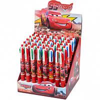 Ручка детская 4 цвета «Тачки»