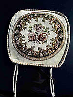 Цветочная накидка-сидушка на стул отличного качества