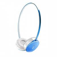 Bluetooth-гарнитура RAPOO S500 Blue (RAPOO S500 голубая) (Интерфейс подключения: Bluetooth v4.0, Тип: музыка и