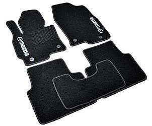 Коврики в салон ворсовые Mazda CX-5 (2012-) /Чёрные, кт. 5шт