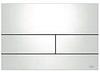 Панель смыва ТЕСЕsquare белая