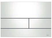 Панель смыва ТЕСЕsquare белая, фото 1