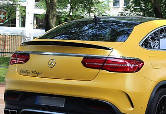 Спойлер Mercedes GLE coupe в стилі AMG карбон