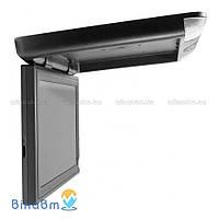 Автомобильный потолочный монитор Gate SQ-1701 Black с USB/SD и ТВ-тюнером, цвет черный