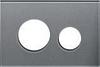 Лицевая панель ТЕСЕloop modular стекло, серебро