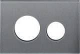 Лицевая панель ТЕСЕloop modular стекло, серебро, фото 1