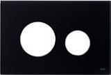 Лицевая панель ТЕСЕloop modular стекло, черный, фото 1