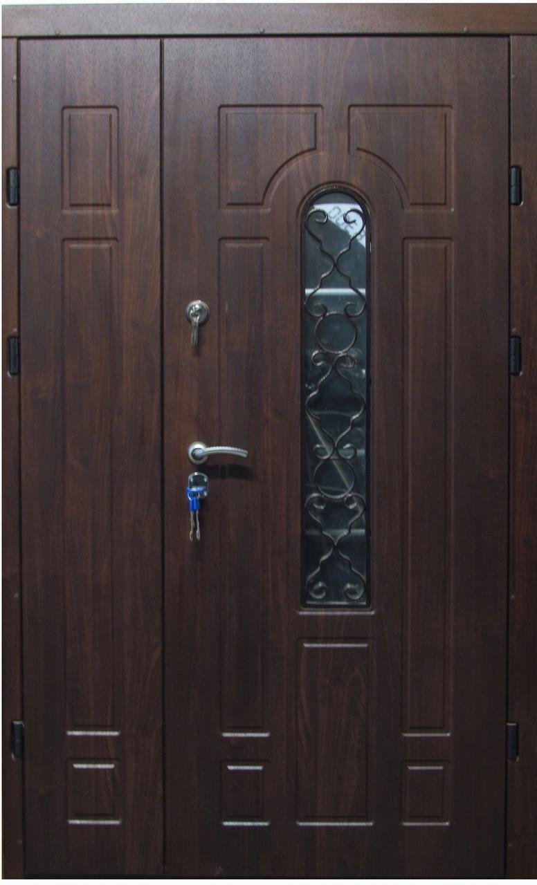 Двери входные с ковкой 1,20х205 бесплатная доставка