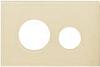 Лицевая панель ТЕСЕloop modular стекло, слоновая кость