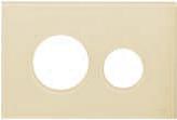 Лицевая панель ТЕСЕloop modular стекло, слоновая кость, фото 1