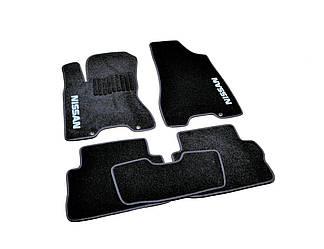 Коврики в салон ворсовые Nissan X-Trail T31 (2007-2014) /Чёрные, кт. 5шт