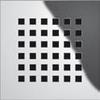 "Декоративная решетка ""quadratum"" TECEdrainboard, 100х100 мм"