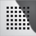 "Декоративная решетка ""quadratum"" TECEdrainboard, 100х100 мм, фото 1"