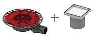 """Сливной трап TECEdrainpoint S для установки плитки """"plate"""""""